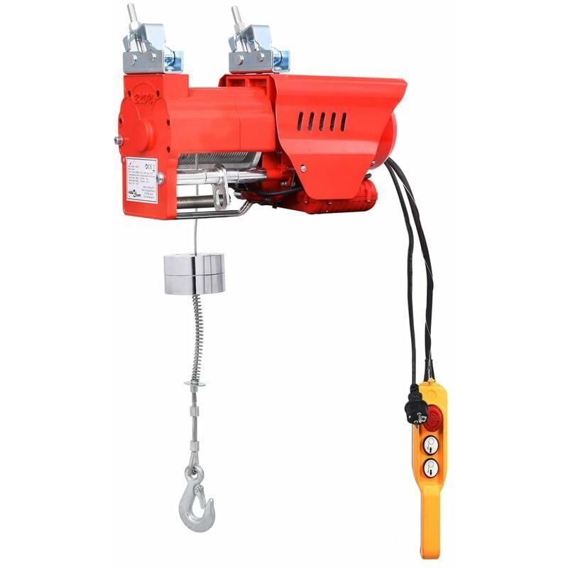 Vidaxl - Palan électrique à haute vitesse 300/600 kg 1300 W