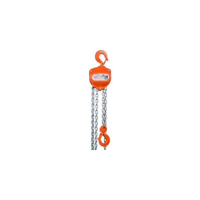 Websilor - Palan manuel X-line - Hauteur de levée : 6 mètres - Capacité : 1500