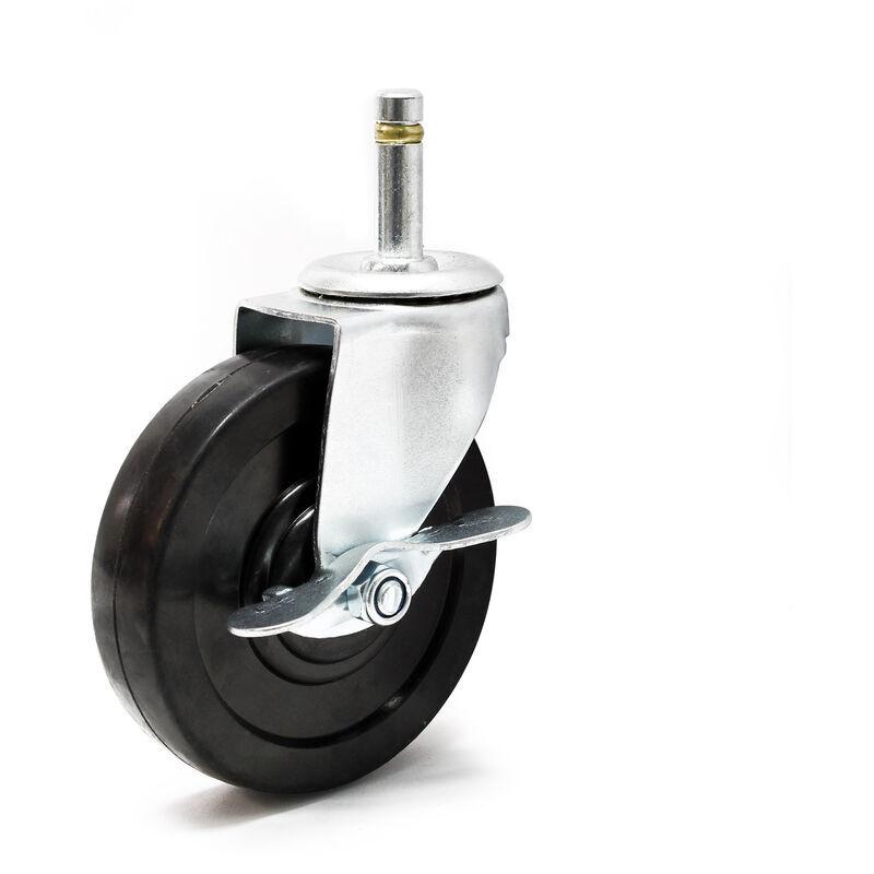 WILTEC Pièce détachée - Roulette pivotante pour lève - plaques