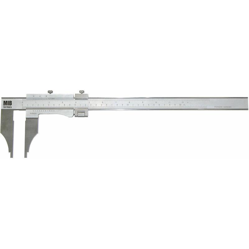 LIMIT Pied à coulisse à vernier, réglage fin, métrique et inch CAZF301 - Limit