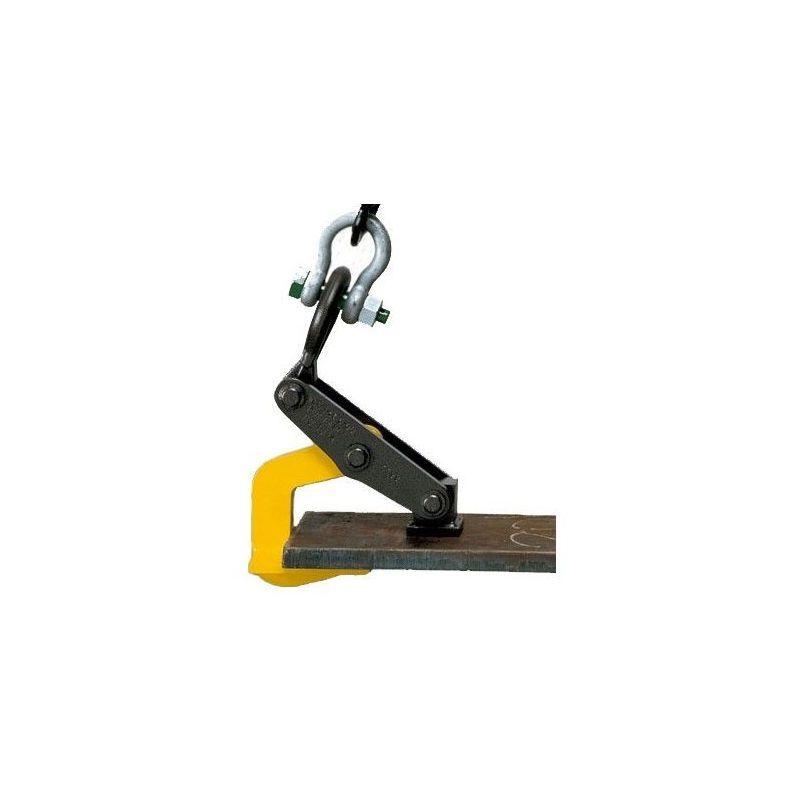 Websilor - Pince à tôle avec galet - Capacité : 2.5 tonnes - Avec mâchoire
