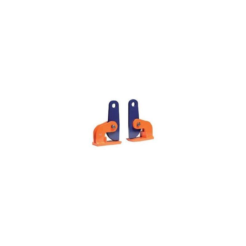 Websilor - Pince à tôle horizontale - Capacité : 1 tonne - Ouverture : 0 à 60 mm