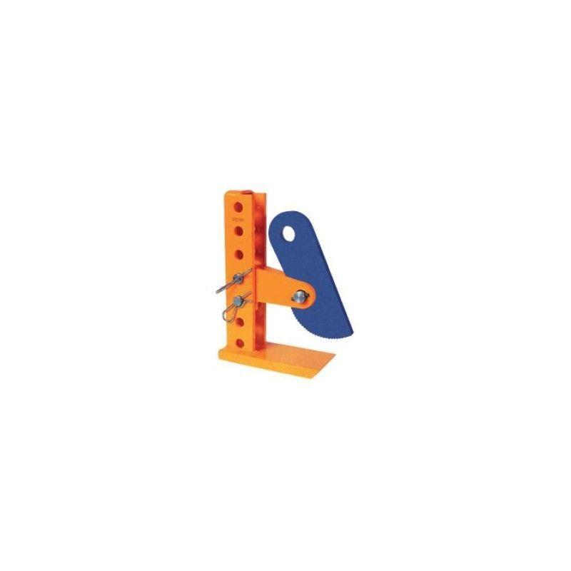 WEBSILOR Pince à tôle horizontale réglable - Capacité : 6 tonnes - Ouverture : 3 à 420 mm