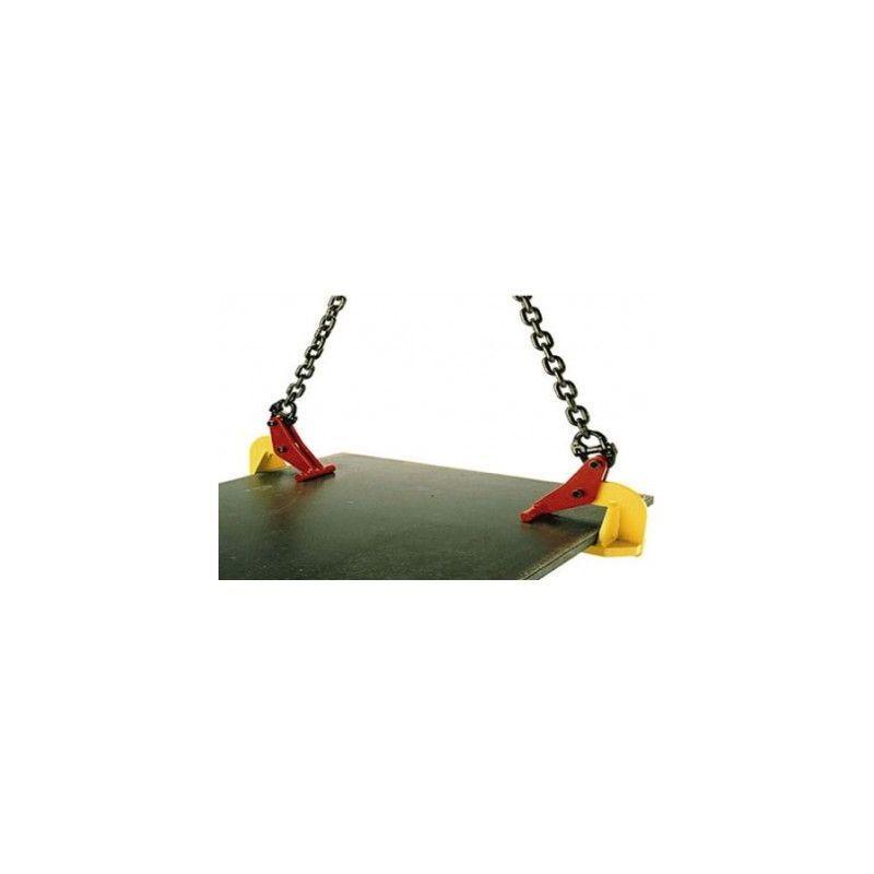 Websilor - Pince à tôle horizontale sans marquage - Capacité : 1.5 tonnes