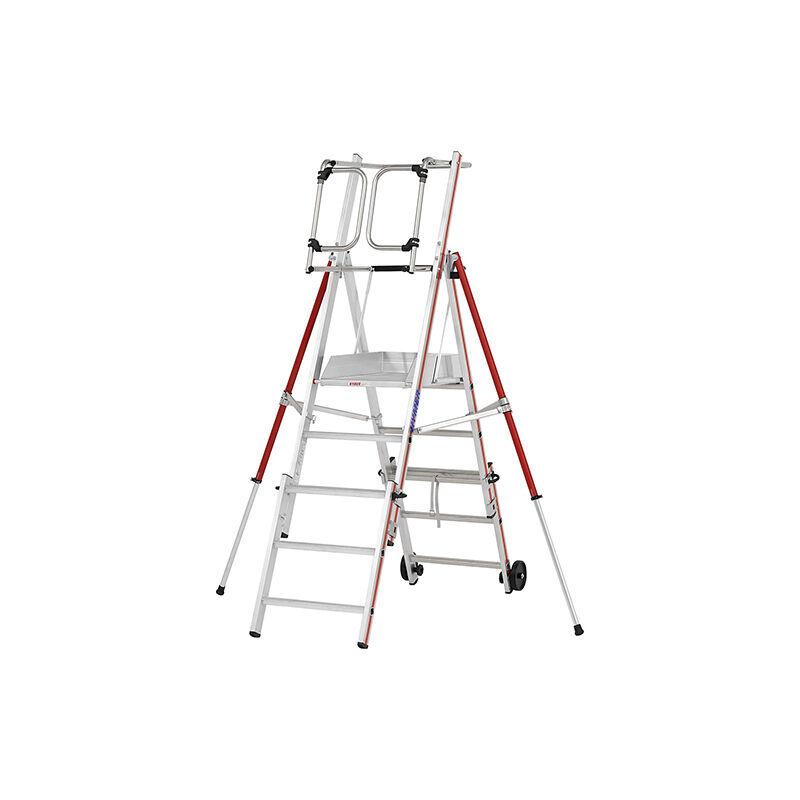 ESCABEAU PIRL - MATISERE Escabeau Pirl-matisere - B. PIRL télescopique - 3 marches + Kit d'extension 3