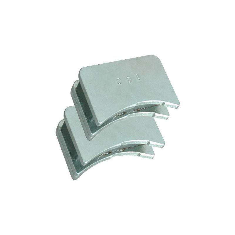 LEMAN Jeu de 2 positionneurs magnétiques de fers pour D. 120 mm - 380.700.120 - Leman