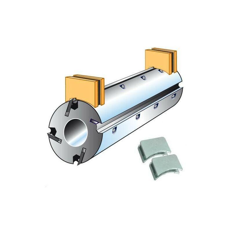 LEMAN Positionneur de fers magnétique - multi arbre Ø 60 - 80 - 100 - 110 mm