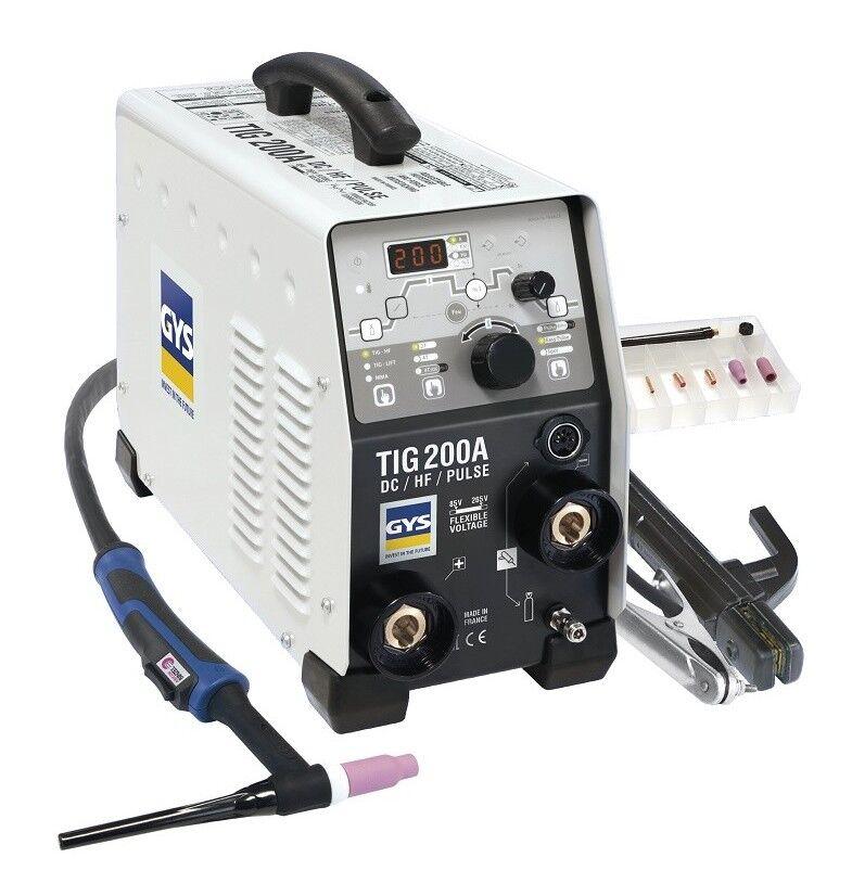 GYS Poste de soudure Inverter TIG DC SR17DB-4M (sans mano) - 011540 - GYS