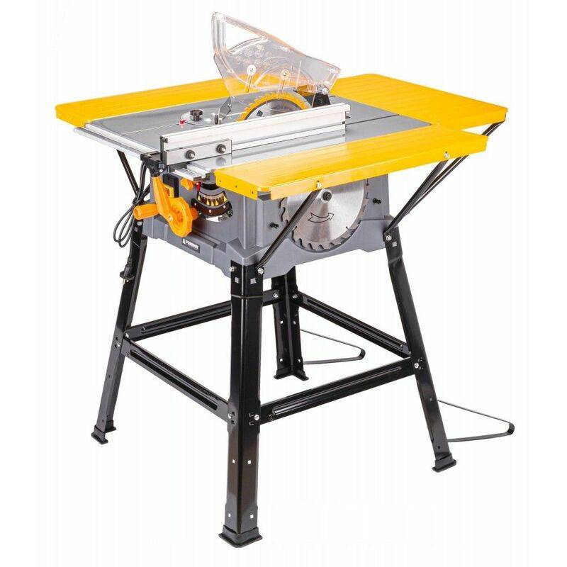 Hucoco - POWER TOOL - Scie sur table - 2000/1600W - Vitesse 4800 rpm - Angle de