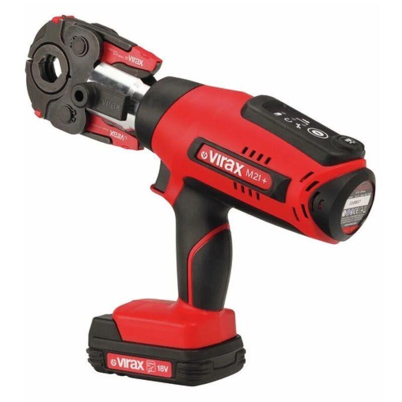 VIRAX Presse à sertir électro-mécanique Viper® M21+ 18V 1.5Ah - 253502 - Virax