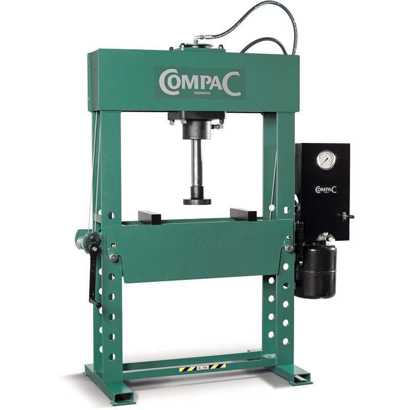COMPAC Presse atelier electro-hydraulique verin double effet 60t compac