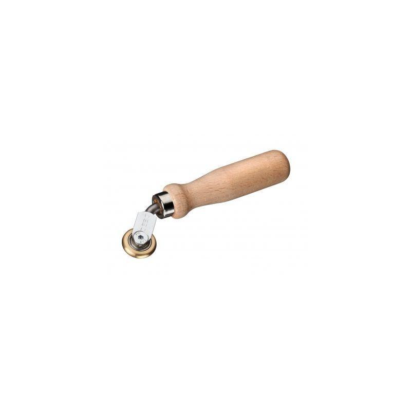 EDMA Roulette d'angle en laiton avec roulement à billes par FREUND - Edma