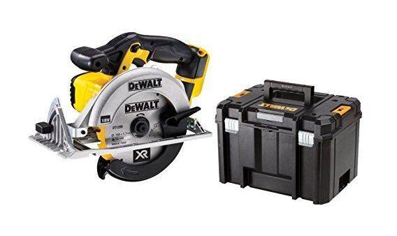 DeWalt DCS391NT-XJ Scie circulaire 18 V sans batterie/accessoires avec T-Stak