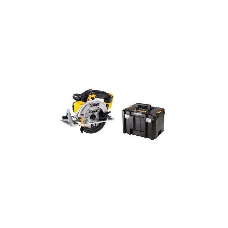 DEWALT Scie circulaire DEWALT 18V XR - Sans batterie ni chargeur - En coffret T-STAK