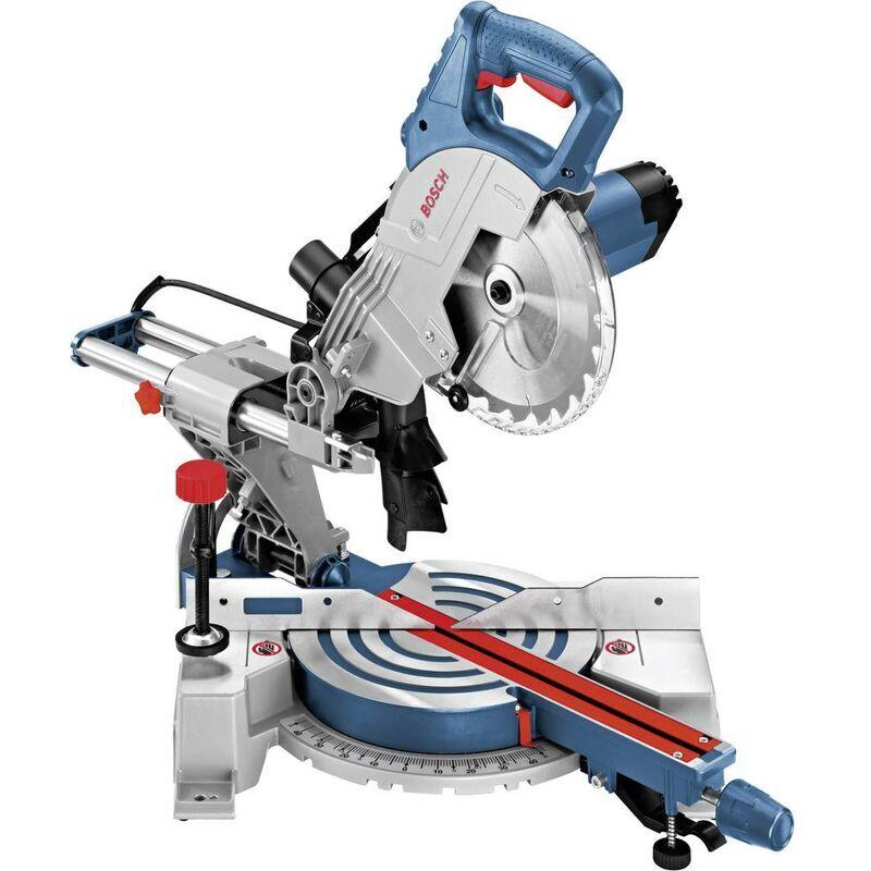 BOSCH Scie à coupe donglet radiale Bosch Professional GCM 800 SJ 0601B19000 216 mm 30