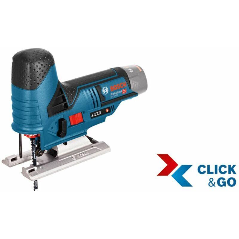 BOSCH Scie sabre sans fil GST 12V-70 (sans chargeur, sans batterie) L-BOXX