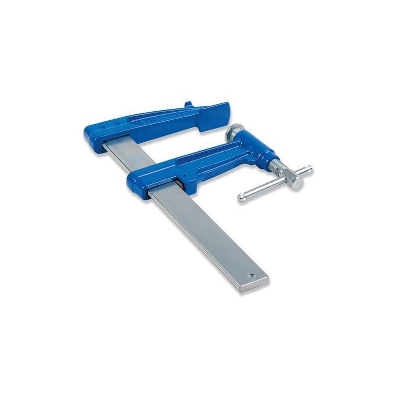 URKO Serre-joint à pompe 300 cm section 40 x 10 mm saillie de 220 mm et frein