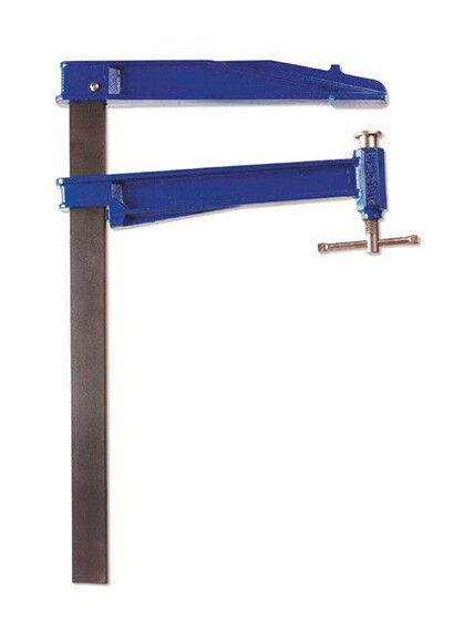 PIHER Serre-joint à pompe grande saillie 30 cm x 35 x 8 mm x L. 60 cm de type K
