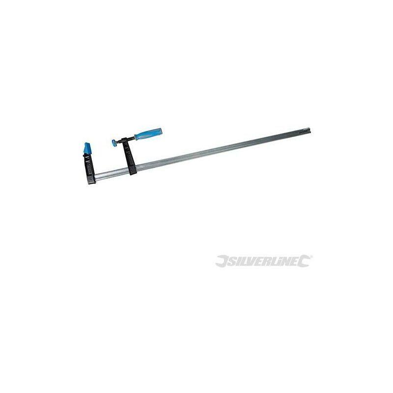 SILVERLINE Serre-joint en F usage intensif (haute capacité), 1000 x 120 mm