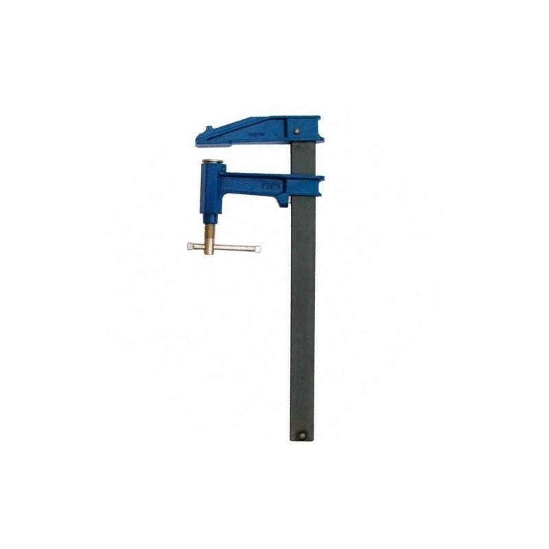 LEMAN Serre-joint à pompe saillie 150 mm section 40 x 10 mm L. 2500 mm - 150.410.250