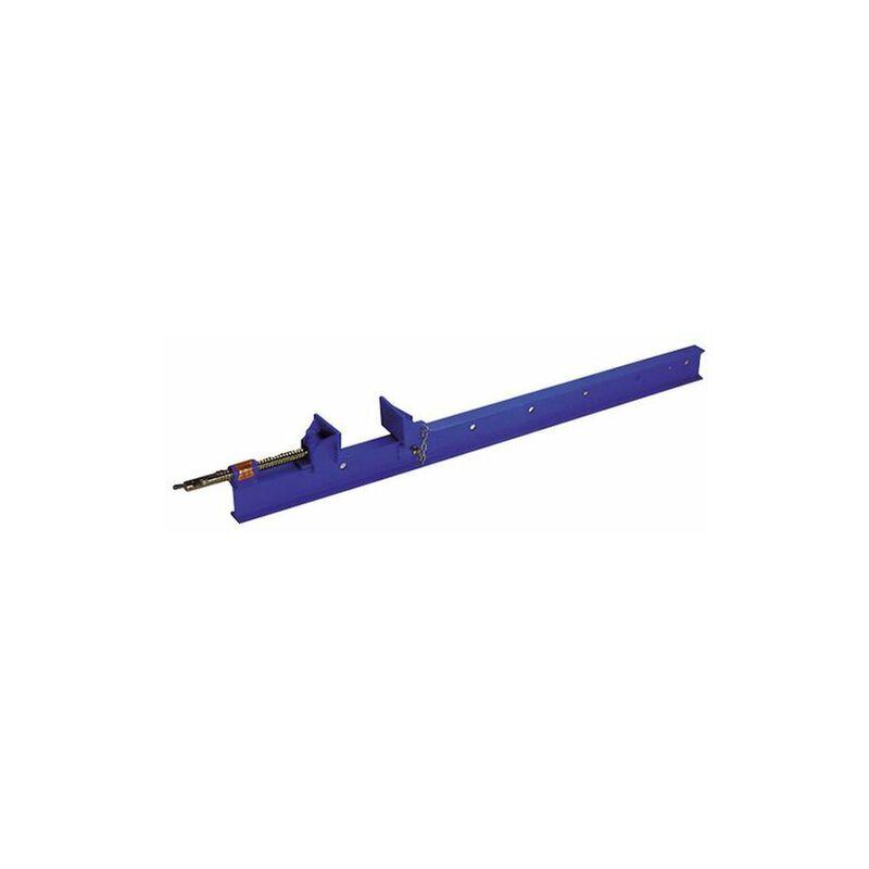 LEMAN Serre-joint dormant section 80 x 42 mm - L. 2000 mm - 080.42.2000 - Leman - -