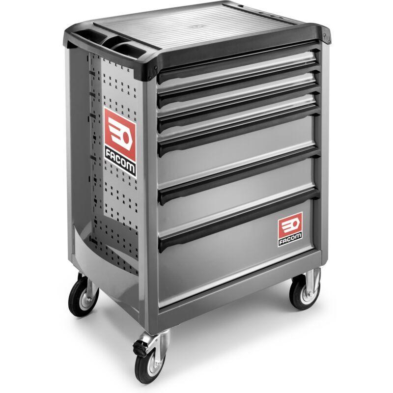 FACOM - Servante ROLL6 6 tiroirs - Nouvelle génération grise - ROLL.6M3PB