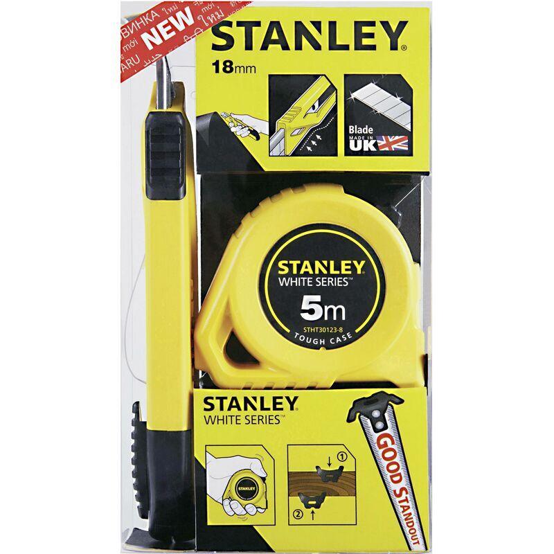 STANLEY BY BLACK & DECKER Mètre-ruban Stanley by Black & Decker STHT74253-8 avec cutter 1 pc(s) D895761