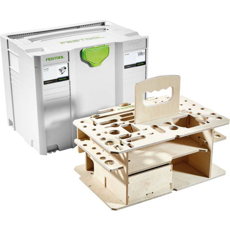 Festool SYSTAINER SYS 4 T-LOC SYS-HWZ Box Coffret de transport de couleur Gris