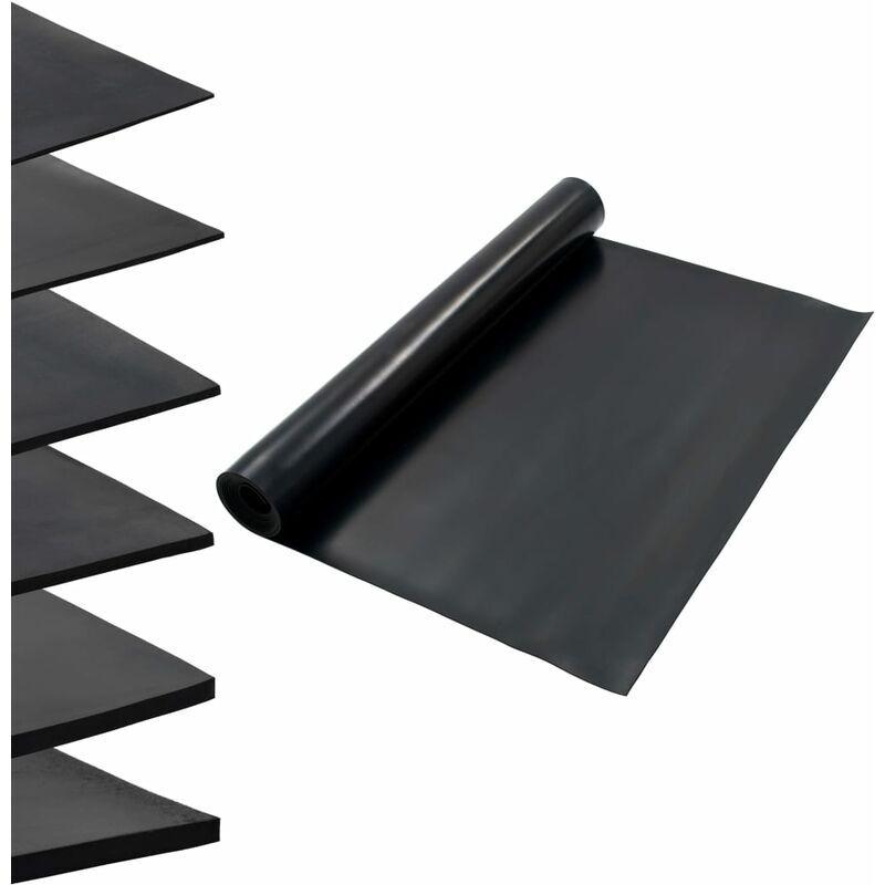 Zqyrlar - Tapis en caoutchouc antidérapant 1,2x5 m 3 mm Lisse