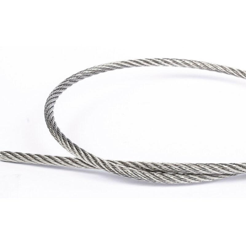 Afg Diffusion - Câble souple 7x7 4mm inox A4   4mm - 250 mètres