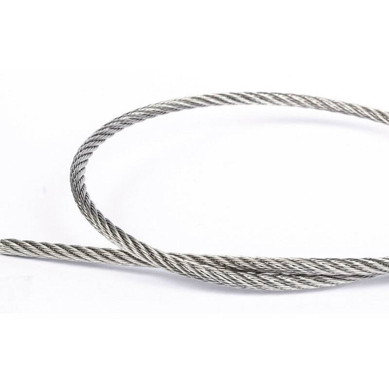 Afg Diffusion - Câble souple 7x7 8mm inox A4   8mm - 100 mètres
