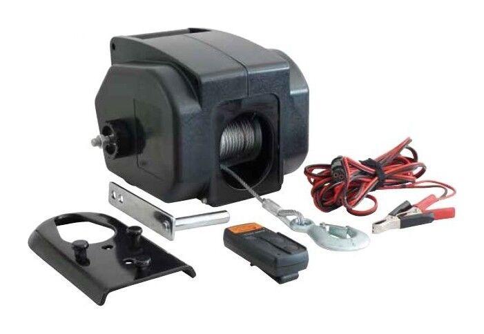 DRAKKAR EQUIPEMENT TREUIL DE TRACTION électrique12V -900 KG télécommande Drakkar -S15254