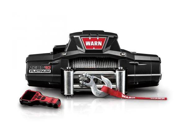WARN Treuil ?lectrique Warn 12v - Zeon Platinum 10 - Charge max 4,5 tonnes - c?ble
