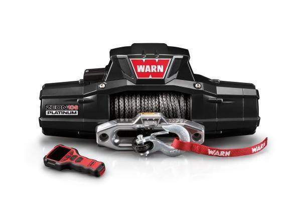 WARN Treuil ?lectrique Warn 12v - Zeon Platinum 10 S - Charge max 4,5 tonnes - c?ble