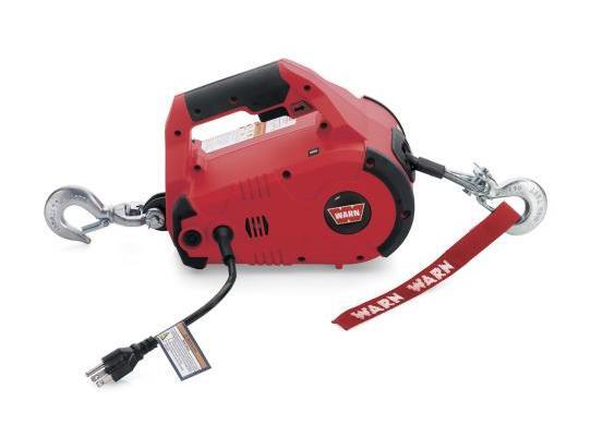 WARN Treuil électrique Warn 230V - Pullzall 220v - charge max 450kg - câble 4,5m