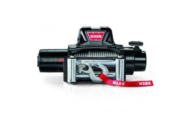 WARN Treuil electrique Warn 12v - Tabor 10 - Charge max 4,6 tonnes - Cable 24m et