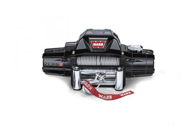 WARN Treuil electrique Warn 12v - Zeon 8 - Charge max 3,6 tonnes - Cable 30m et