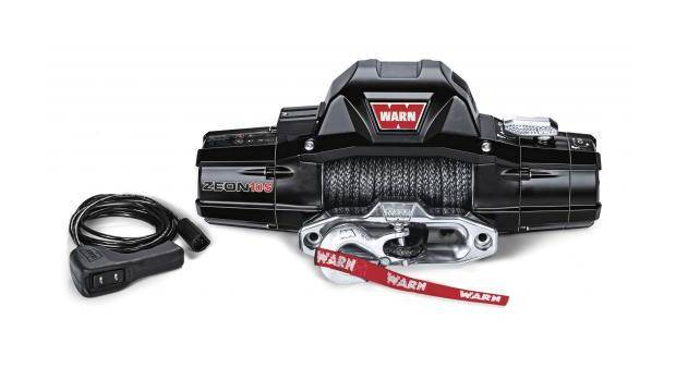 WARN Treuil ?lectrique Warn 12v - Zeon 10 S - Charge max 4,5 tonnes - C?ble