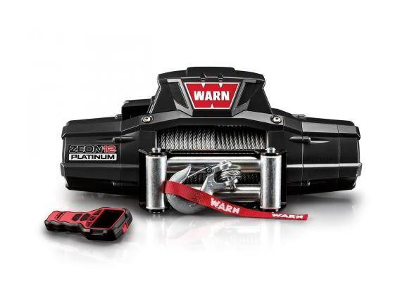 WARN Treuil ?lectrique Warn 12v - Zeon Platinum 12 - Charge max 5,4 tonnes - c?ble