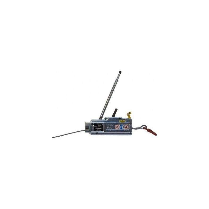 Websilor - Treuil manuel tirfor T500 - 800 à 3200 kg - Capacité : 800 kg