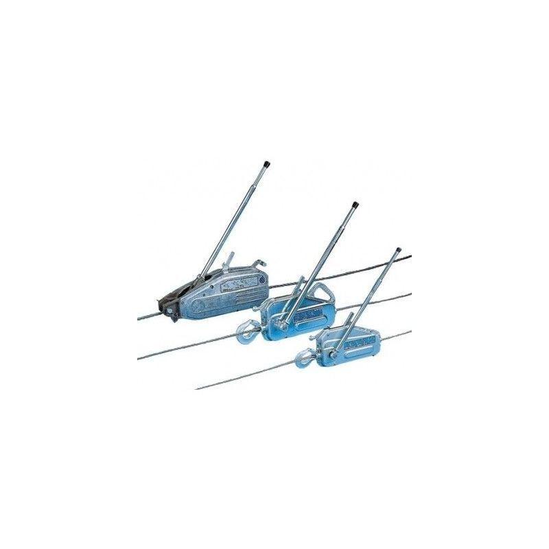 Websilor - Treuil manuel tirfor TU - 800 à 3200 kg - Capacité : 3200 kg - Câble