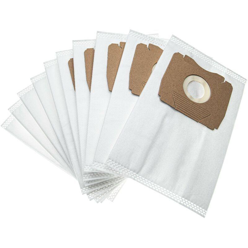 vhbw 10 sacs microfibres non tissées compatible avec Privileg / Quelle 766 570