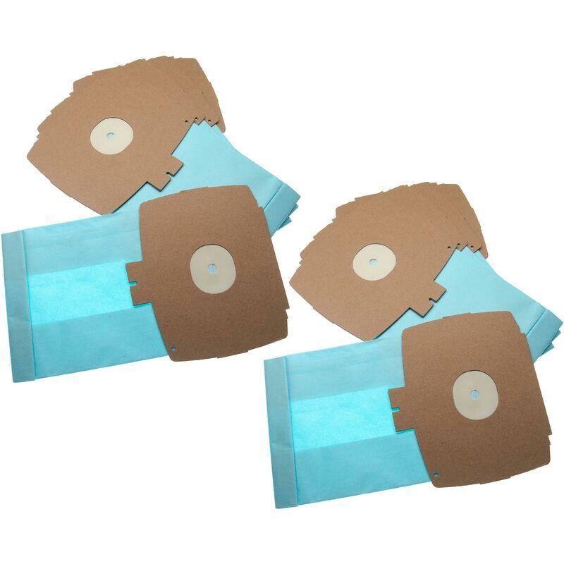 vhbw 10 sacs papier remplace Wolf 0730 / 730 pour aspirateur 26.1cm x 15.05cm