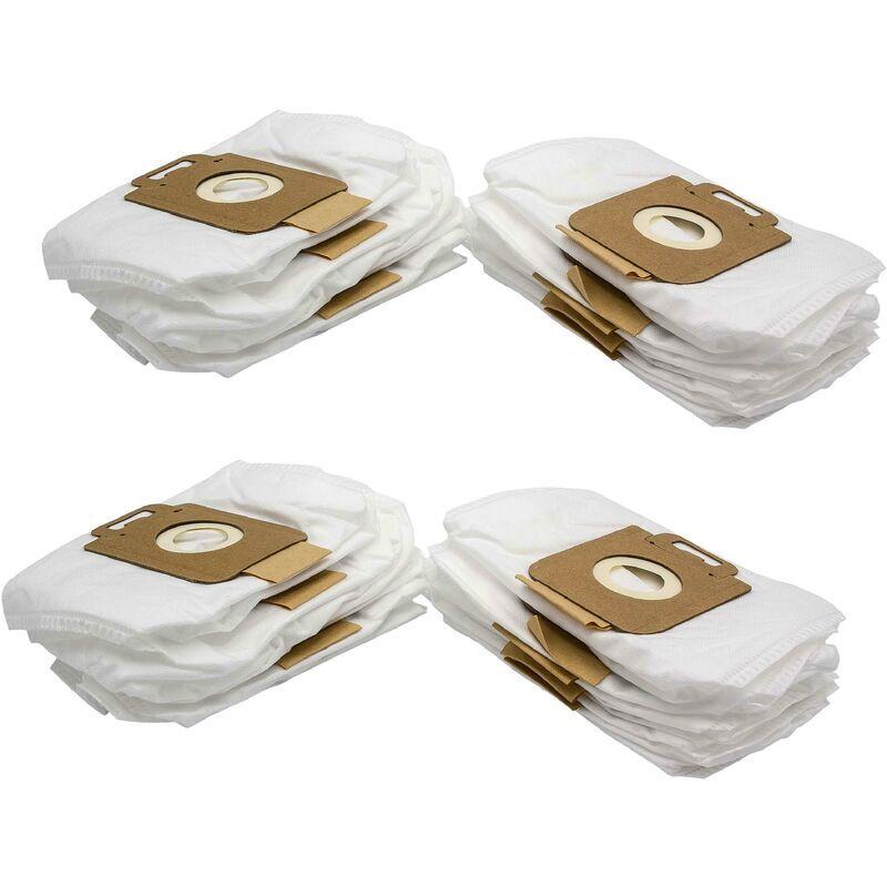 VHBW 20x sacs compatible avec Nilfisk / Alto GM Action, Arnoldi, Great Dane, Mocca,