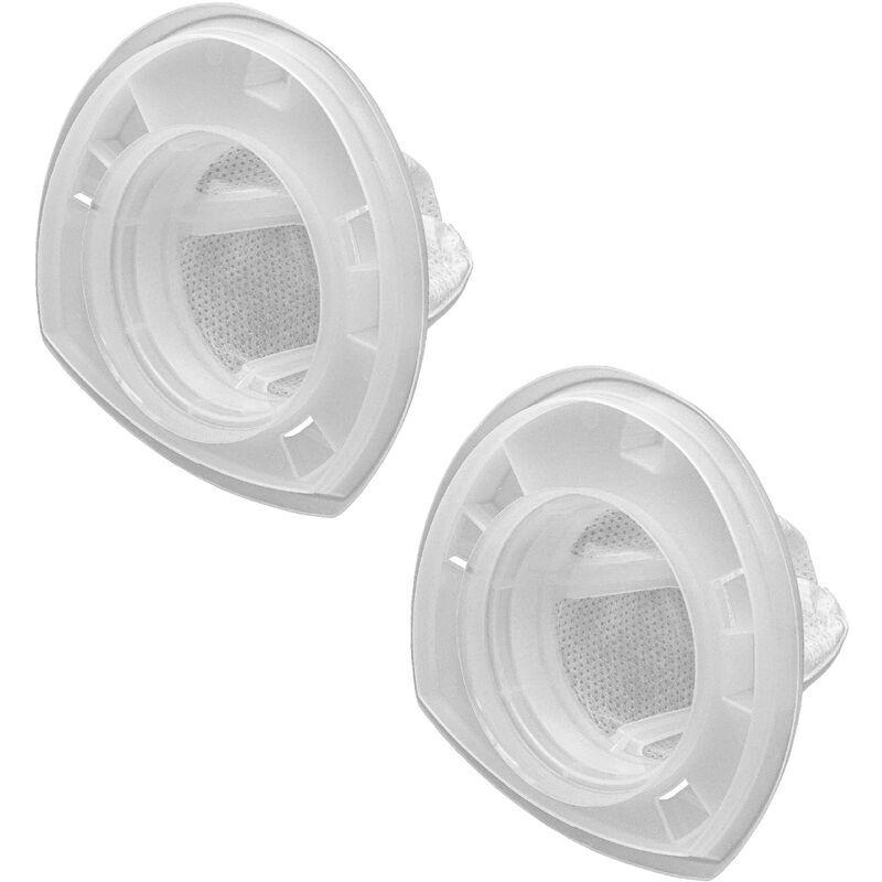 VHBW 2x filtre d'aspirateur fines particules compatible avec Black & Decker
