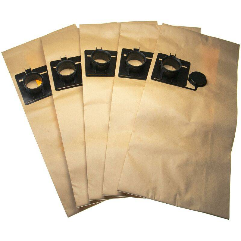 vhbw 5 sacs papier compatible avec Festool CT/CTL/CTM 22, FIS-CT 22/5