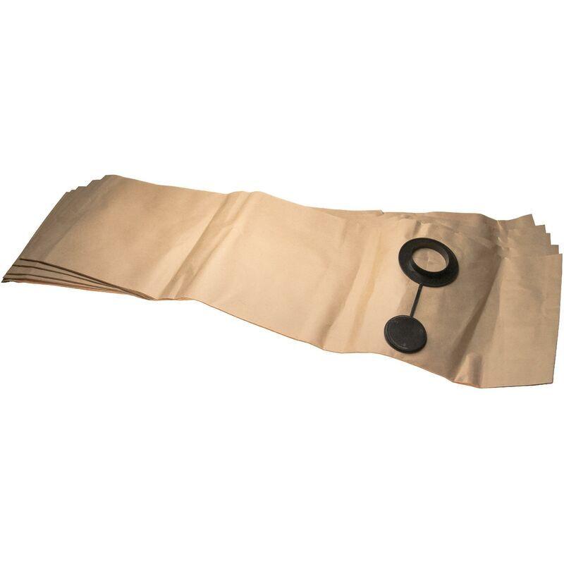 VHBW 5 sacs papier compatible avec Festool SR 5, SR 6 aspirateur 29,7cm x 99.6cm
