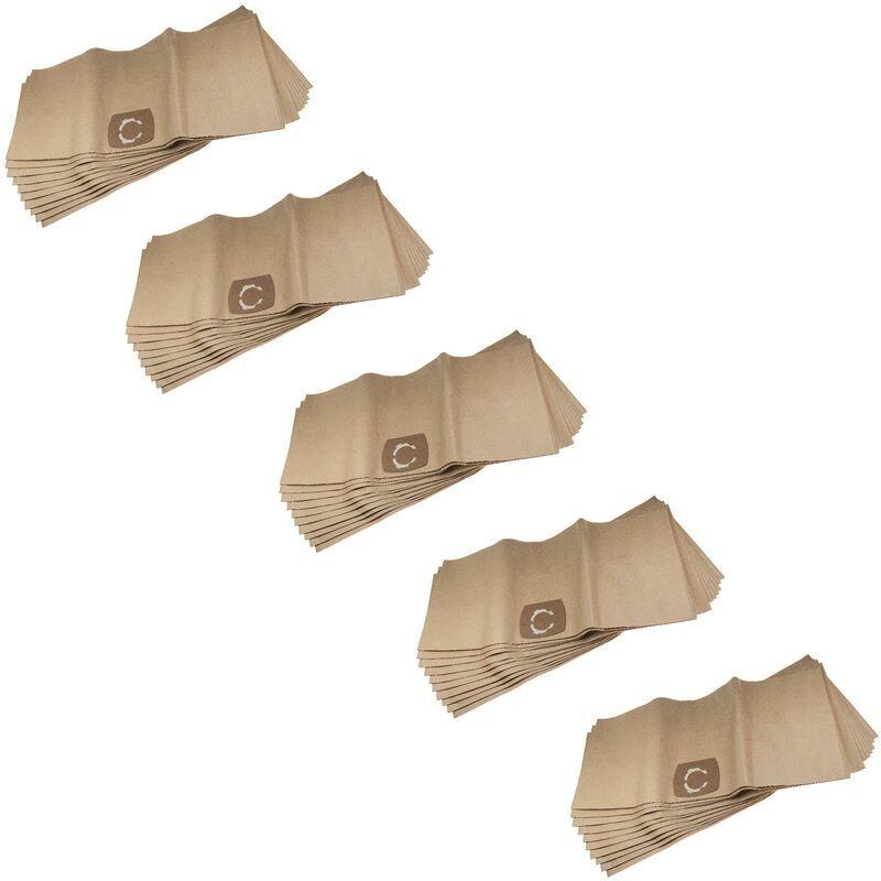 vhbw 50x sacs compatible avec AEG Multi 300, Multi 300 Pro aspirateur - papier,