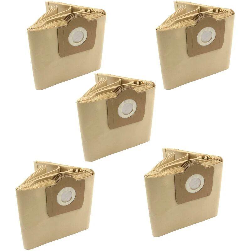 VHBW 50x sacs compatible avec Hitachi WDE 1000 / WDE1000 aspirateur - papier,