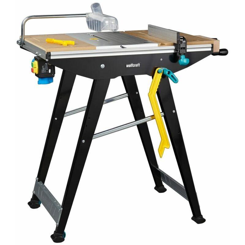 TRUE DEAL wolfcraft Table de sciage Master Cut 1500 94 x 64 x 86,5 cm 6906000